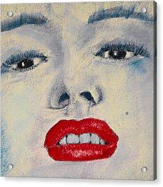 Marilyn Monroe Acrylic Print by David Patterson
