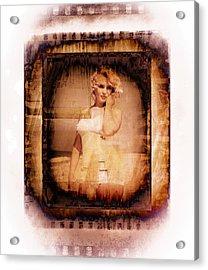Marilyn Monroe Film Acrylic Print