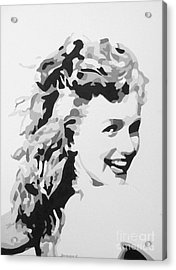 Marilyn Monroe Acrylic Print by Katharina Filus
