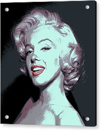 Marilyn Monroe Pop Art Acrylic Print
