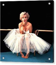 Marilyn Monroe Portrait Acrylic Print