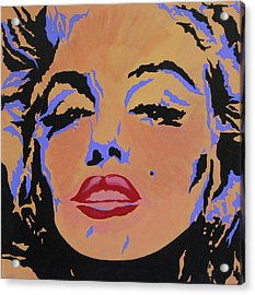 Marilyn Monroe-sultry Acrylic Print