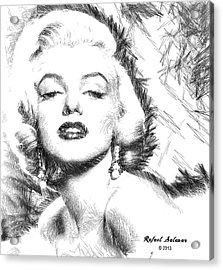 Marilyn Monroe - The One And Only  Acrylic Print