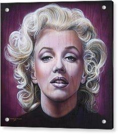 Marilyn Monroe Acrylic Print by Timothy Scoggins