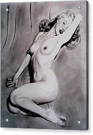 Marilyn-nude Acrylic Print