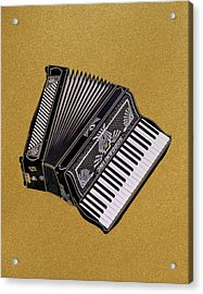 Marilyn's Accordion Acrylic Print