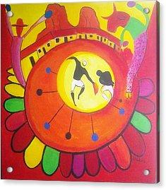Marimbona Acrylic Print by Jose jackson Guadamuz guadamuz