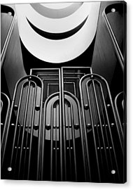 Acrylic Print featuring the photograph Marin County Government Complex Gate by Jeff Brunton