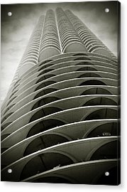 Marina City Chicago Il Acrylic Print by Christine Till