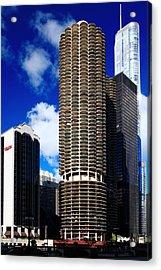 Marina City Corncob Tower Acrylic Print