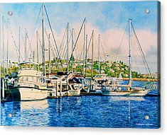 Marina Del Rey Afternoon Acrylic Print