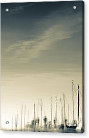 Acrylic Print featuring the photograph Marina by Kevin Bergen