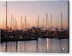 Marina Sunrise 12 Acrylic Print