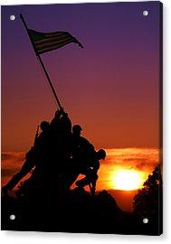 Marine Corps Memorial Acrylic Print