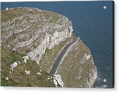 Acrylic Print featuring the photograph Marine Drive by Christopher Rowlands