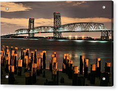 Marine Parkway Bridge Acrylic Print by JC Findley
