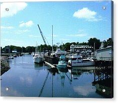 Mariner Harbor Acrylic Print by Dusty Reed