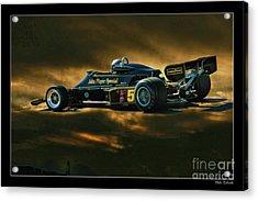 Mario Andretti John Player Special Lotus 79  Acrylic Print