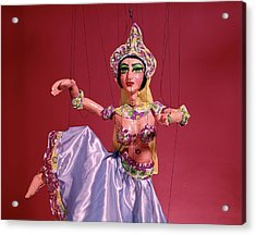 Marionette Puppet Belly Dancer Acrylic Print