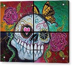 Mariposa - A Spirit Returns Acrylic Print by Laura Barbosa