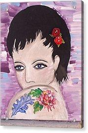 Marissa Acrylic Print by Karen Carnow