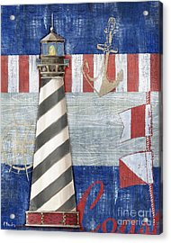 Maritime Lighthouse II Acrylic Print
