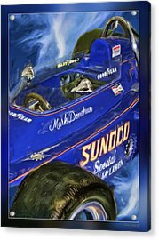 Mark Donohue 1972 Indy 500 Winning Car Acrylic Print