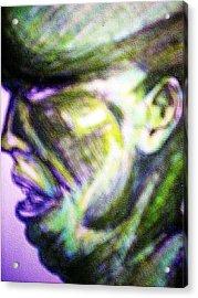 Mark Lopez Acrylic Print by HollyWood Creation By linda zanini