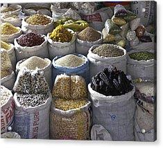 Market - Cusco Peru Acrylic Print
