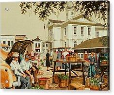 Market Days Acrylic Print by Michael Swanson