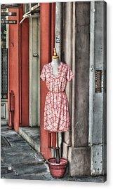 Market Fashion Acrylic Print by Brenda Bryant