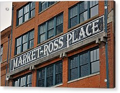 Market Ross Place Dallas Texas Acrylic Print