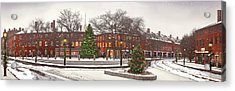 Market Square Christmas - 2013 Acrylic Print by John Brown