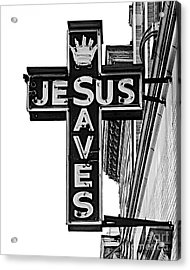 Market Street Mission Acrylic Print by Mark Miller