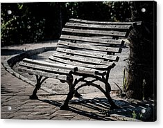 Mark's Bench Acrylic Print
