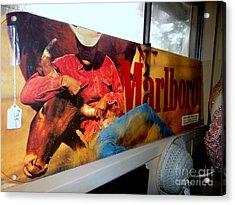 Marlboro Man Acrylic Print by Ed Weidman