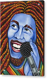 Marley Acrylic Print by Nannette Harris