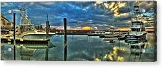 Marlin Quay Marina Acrylic Print