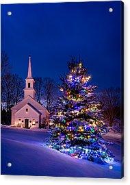 Marlow Christmas Acrylic Print by Michael Blanchette
