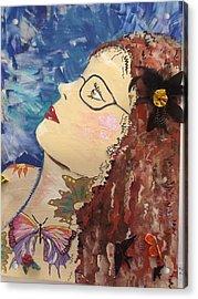 Marna Acrylic Print by Karen Carnow