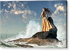 Marooned Acrylic Print by Daniel Eskridge