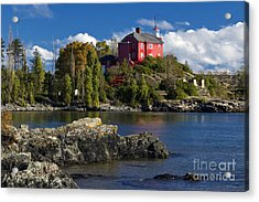 Marquette Harbor Light - D003224 Acrylic Print