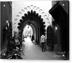 Marrakesh Medina Acrylic Print by Sophie Vigneault