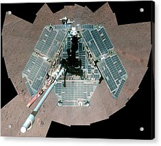Mars Rover Opportunity Acrylic Print by Nasa/jpl-caltech/cornell University/arizona State University