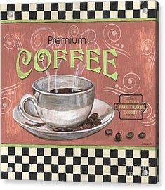 Marsala Coffee 2 Acrylic Print by Debbie DeWitt