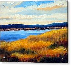 Marsh 3 Acrylic Print by Laura Tasheiko
