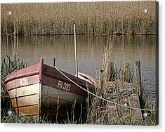 Marsh Boat Acrylic Print by Odd Jeppesen