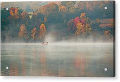 Marsh Creek Pa Acrylic Print by David Zhu
