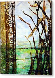 Marsh Grass Study Acrylic Print