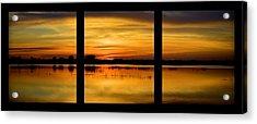 Marsh Rise Tiles 1-3 Acrylic Print